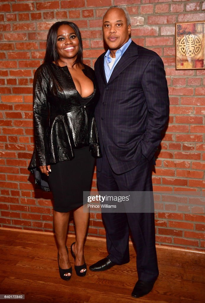 Ky Dele and Bernard Bronner attend 'The Made Man Awards 2017' at 595 North on January 26, 2017 in Atlanta, Georgia.