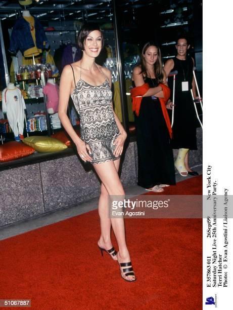 26Sept99 New York City Saturday Night Live 25Th Anniversary Party. Teri Hatcher