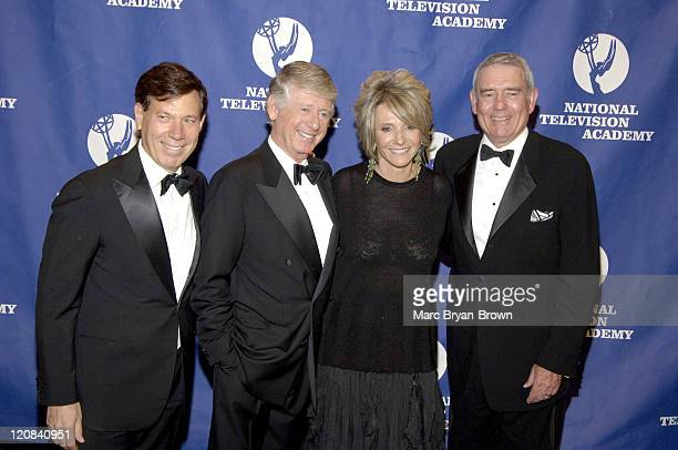 26th Annual News and Documentary Emmy Awards CeremonyPeter Price Ted Koppel Sheila Nevins and Dan Rather at the 26th Annual News and Documentary Emmy...
