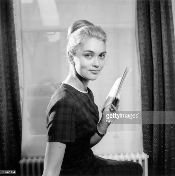 Alexandra Bastedo who later starred as Sharon McReady in the TV series 'The Champions'