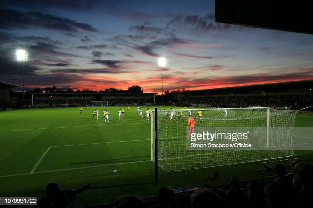 26th August 2016 Sky Bet EFL Championship Burton Albion v Derby County A general view of the Pirelli Stadium during sunset