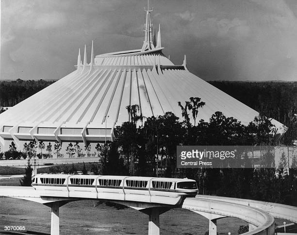 Space Mountain at Disney World in Florida