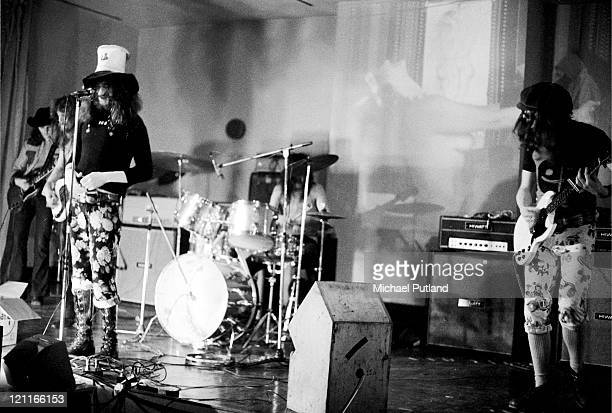 Sam Apple Pie perform on stage at UFO club in London on 26th February 1972