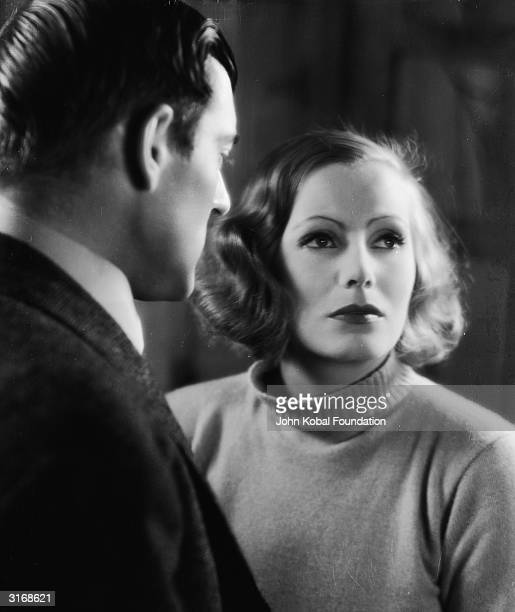 Swedish actress Greta Garbo plays a woman with a shady past in the film 'Anna Christie', directed by Clarence Brown.
