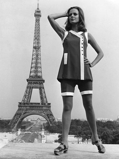 Paris Fashion 1968