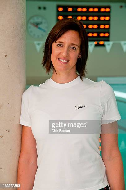 English swimmer Karen Pickering posed in Finchley North London on 26th June 2011