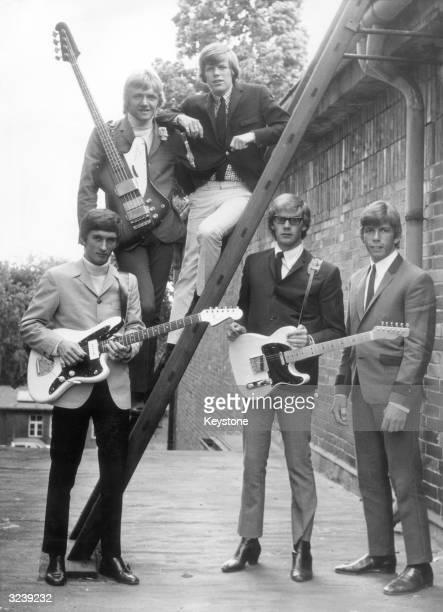 British pop group Herman's Hermits in Berlin