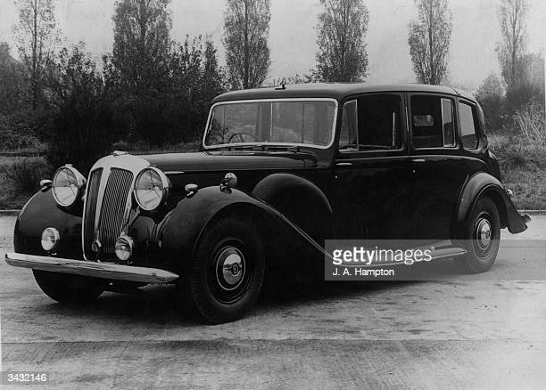 A Daimler car built for the South African government and to be used during the royal tour of South Africa