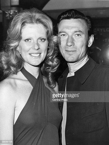 Actor Laurence Harvey the original Joe Lampton in the film 'Room at the Top' with his wife Paulene Stone