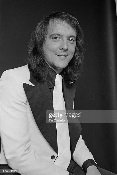 Drummer Dave Mount from glamrock group Mud posed in London on 26th September 1973