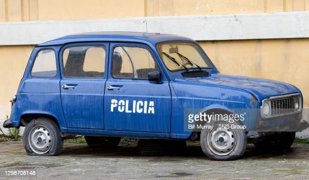 Albanian Police Car