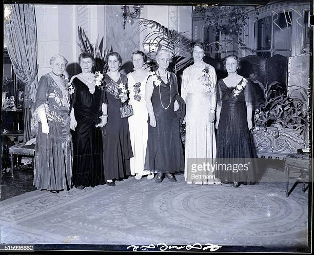 2/7/1934New York New York The women's Univeristy Club gave a dinner in Mrs Franklin D Roosevelt honor at Sherry's to welcome her as an honorary...