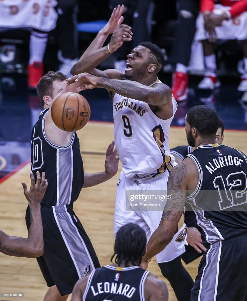 NBA: JAN 27 Spurs at Pelicans : News Photo