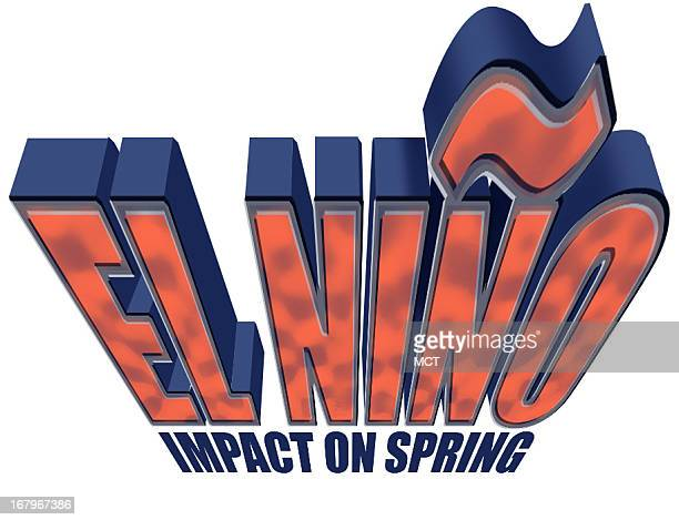 27p x 21p Ron Coddington color illustration headline that says El Nino Impact on spring