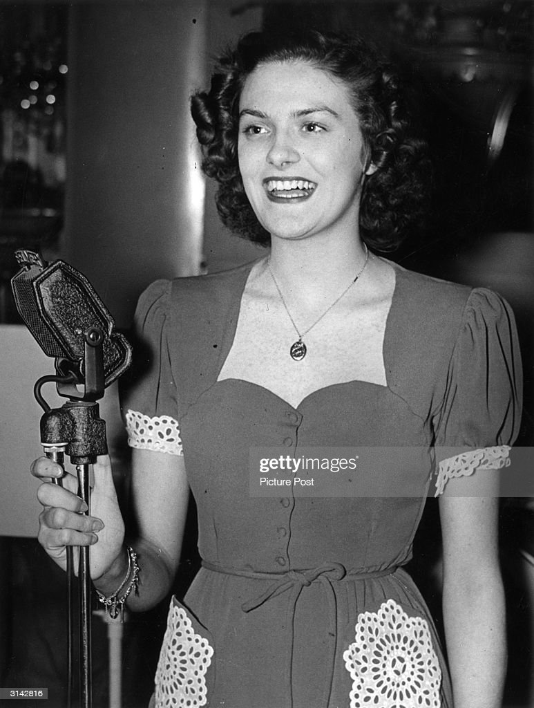 The singer Beryl Davis, daughter of band leader Harry Davis, became a favourite in Britain before touring and performing for the troops with Glenn Miller's Army Air Force Orchestra. Original Publication: Picture Post - 621 - Croonerettes - pub. 1940