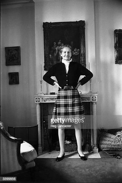 English novelist and daughter of the 2nd Baron Redesdale Nancy Mitford .