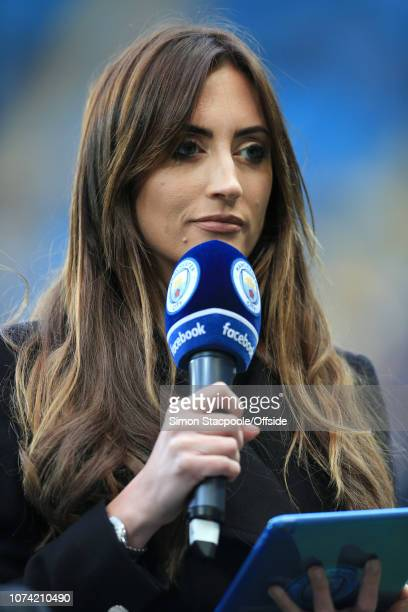 27th April 2017 - Premier League - Manchester City v Manchester United - Man City television presenter Kelly O'Donnell - .