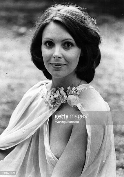 Film and television actress Diane Keen dressed to keep cool