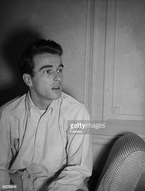 American actor Montgomery Clift