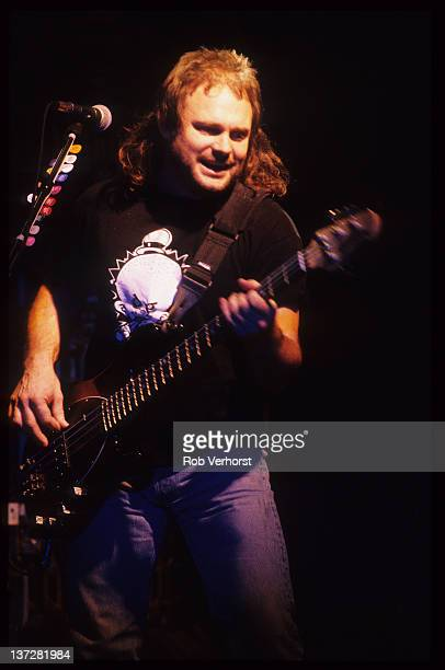 bass player Michael Anthony from American Rock group Van Halen performs live on stage at Luxor in Arnhem Netherlands on 27th January 1995
