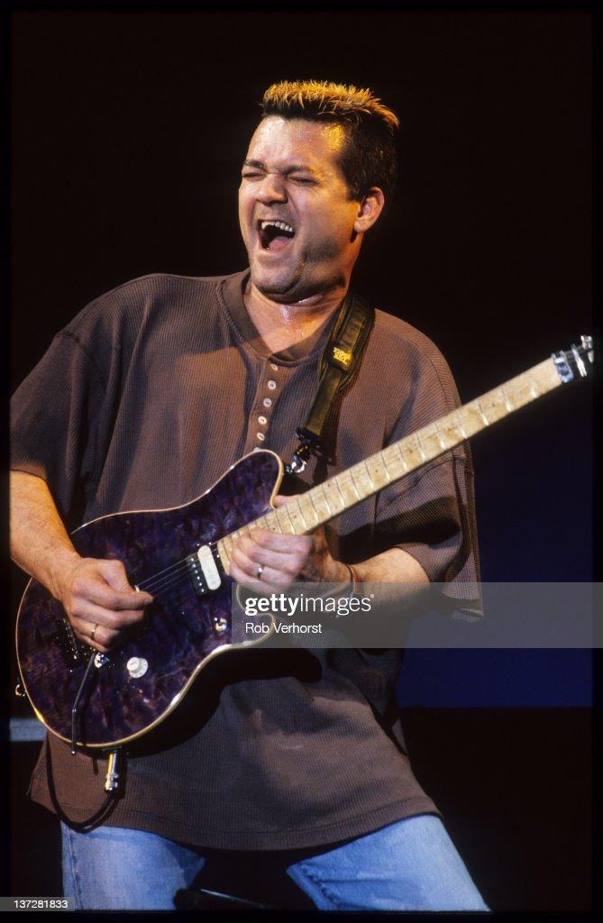 Van Halen Live In Arnhem : News Photo