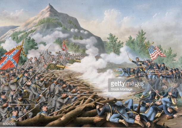 US Civil War 186165 The Atlanta Campaign Major General William T Sherman sent Union forces to attack Confederate General Joseph E Johnston's...
