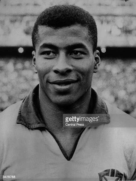 Brazilian footballer Jairzinho who scored in every round of the 1970 World Cup which Brazil won