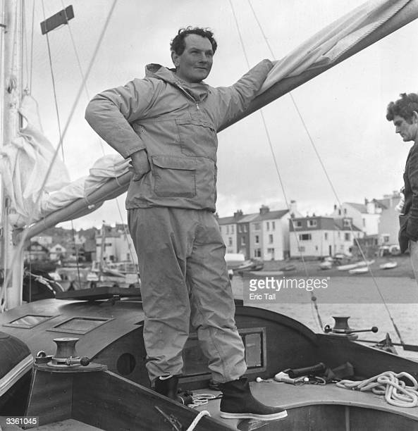 Yachtsman Donald Crowhurst a sailor originally hailed as a hero for circumnavigating the globe singlehandedly only to be disgraced when The Times...