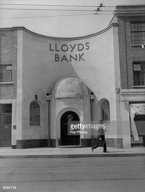 Exterior of Lloyds Bank at Teddington nr London