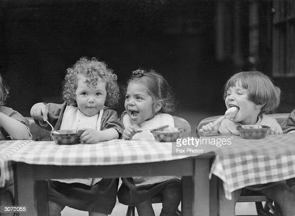 Dinner Time At The North Islington Nursery School In Tollington Park News Photo Getty Images