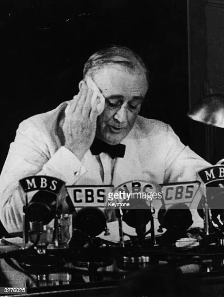 American President Franklin Delano Roosevelt declares an 'unlimited' state of national emergency This was two months after Congress passed the...