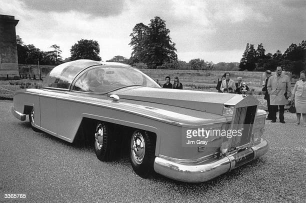 A full size working replica of the pink limousine used by Parker to chauffeur Lady Penelope in Gerry Anderson's television series 'Thunderbirds'...