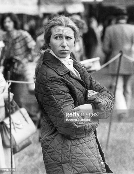Princess Anne at the Royal Windsor Horse Show