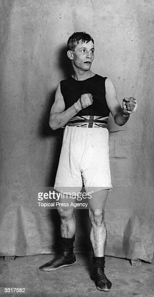 Henry Thomas of Great Britain who won the Bantamweight boxing title at the 1908 London Olympics.