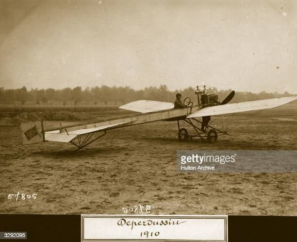 One of the early Societe Pour les Appareils Deperdussin monoplanes Aeroplane Album Vol 3 Page 63