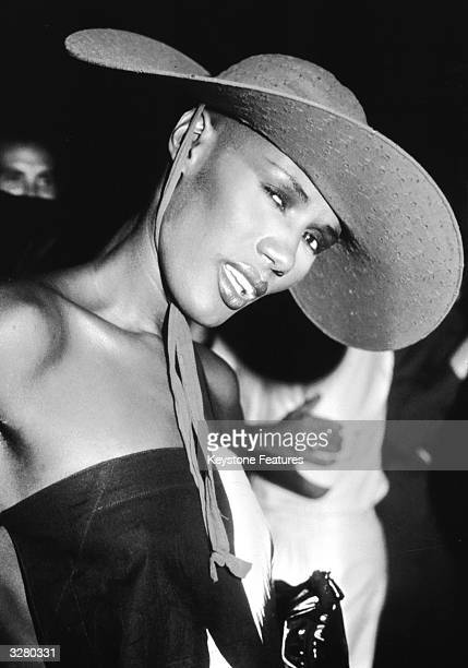 Grace Jones the entertainer after releasing 'Warm Leatherette'