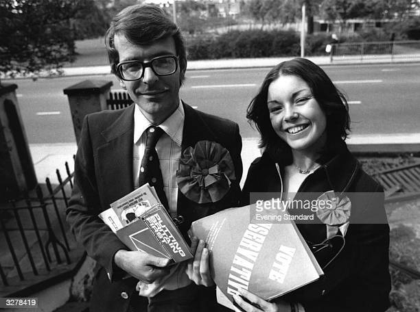 John Major English politician and eventual leader of the Conservative Party campaigning with a conservative female colleague He first won a seat in...