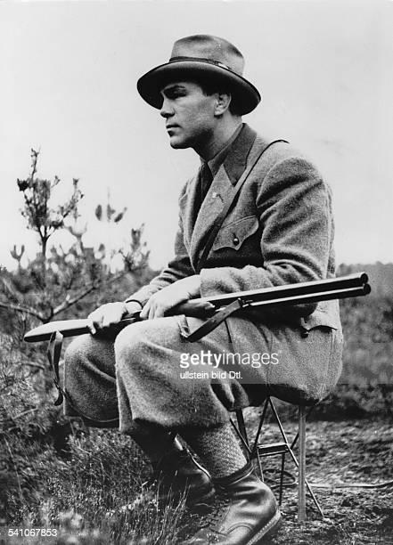 *Sportler Unternehmer Dauf der Jagd November 1936