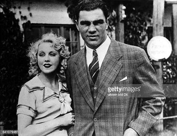 *Sportler Unternehmer Dmit seiner Frau Anni Ondra auf der Hochzeitsreise 1933