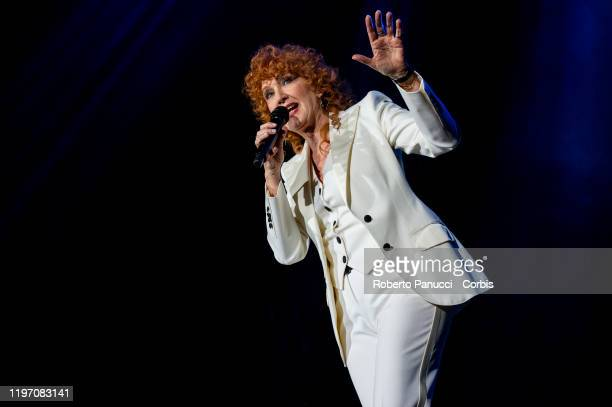 Fiorella Mannoia Performs on December 28 2019 in Rome Italy