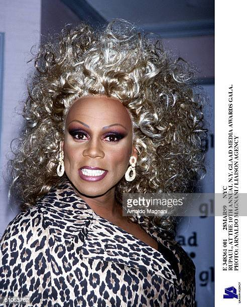 E 348361 001 28Mar99 Nyc Rupaul At The 10Th Annual NY Glaad Media Awards Gala