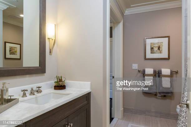 Second Bath in Unit 306 at The Signet on May 28 2019 in McLean Virginia