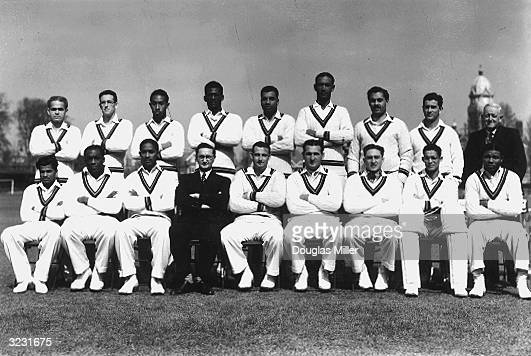 CHECK HIRES IF SUPPLYING DIGITALLY A team picture of the 1950 West Indies Touring side back row from left to right C B Williams Roy Edwin Marshall...
