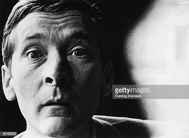 English comedian and actor Kenneth Williams