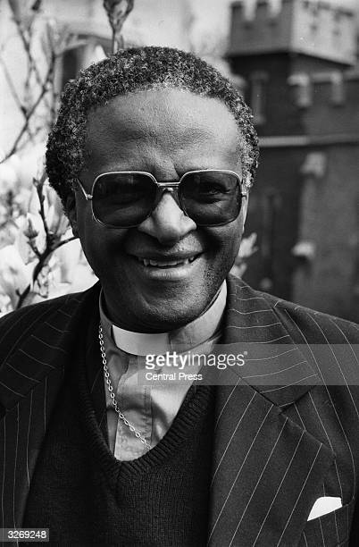 Bishop Desmond Tutu of South Africa a bishop in the Anglican Communion and General Secretary of the South African Council of Churches