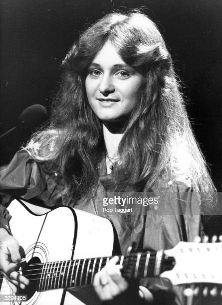 17 year old German pop singer Nicole who won the 1982 Eurovision Song Contest with her song 'A Little Peace'