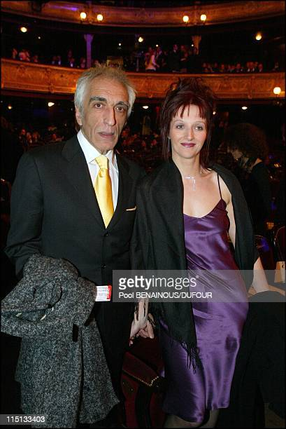 28th 'Cesar' awards ceremony in theatre du Chatelet in Paris France on February 22 2003 Gerard Darmon