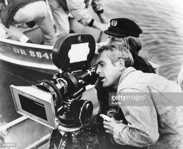American actor Paul Newman.