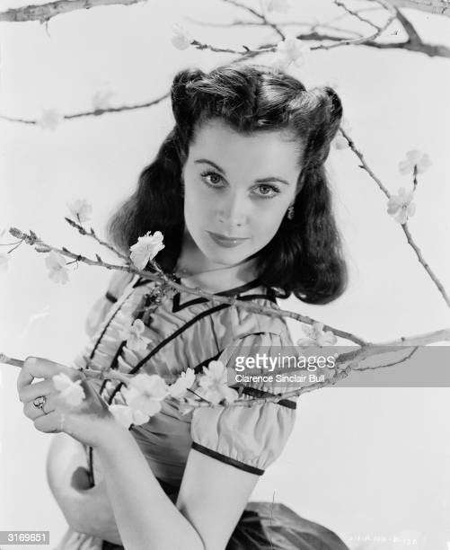 British actress Vivien Leigh as the lovesick Scarlett O'Hara the Academy award winning part she played in 'Gone With the Wind' directed by Victor...