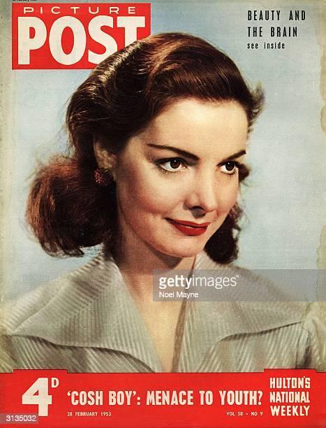 Actress Elizabeth Sellars Original Publication Picture Post Cover pub 1953